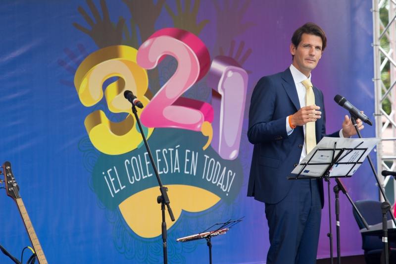 El señor Embajador de la Unión Europea, Pelayo Castro Zuzuarregui