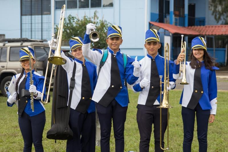 Banda del CTP Valle La Estrella
