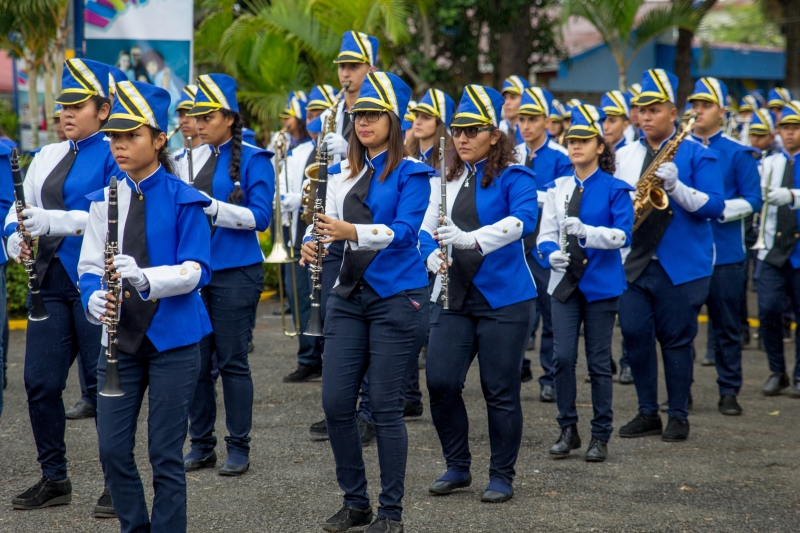 Presentación de la banda del CTP Valle La Estrella