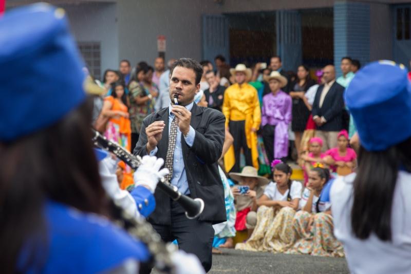 Director de la banda del CTP Valle La Estrella